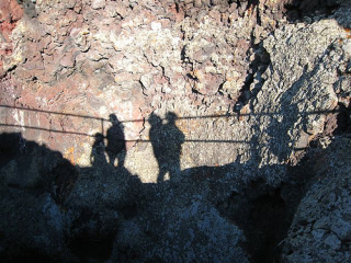 Shadows at Craters of the Moon